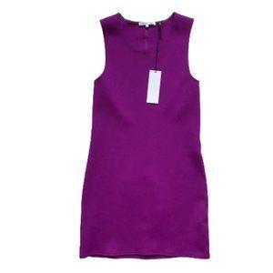 NWT Helmut Lang Mini Dress XS Purple Sleeveless